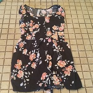 Aeropostale Sleeveless Floral Dress XS